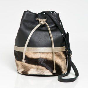 kulu ayla zebra handbag