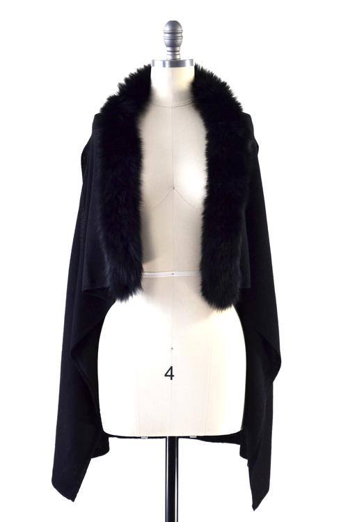 mannequin with black wrap front