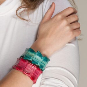 arm with kulu crocodile cuff bracelet