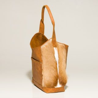 small photo of kristy Springbok Tote bag side 2