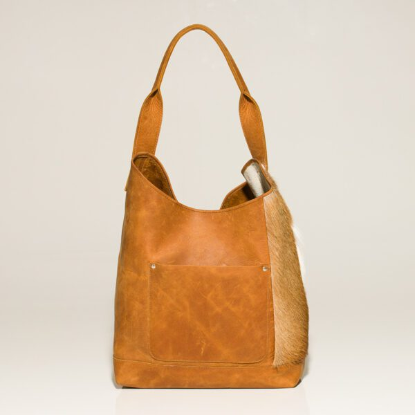 small photo of kristy Springbok Tote bag front