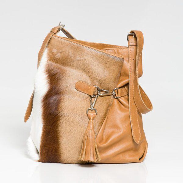 Kulu Springbok Fienn Hazelnut Handbag