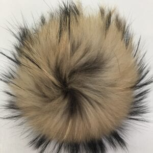 brown and black ball of fur