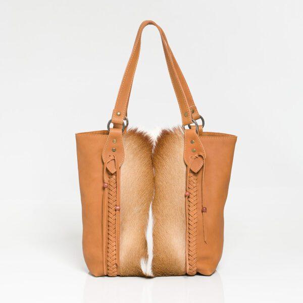 Kulu Springbok Kabili Walnut Handbag